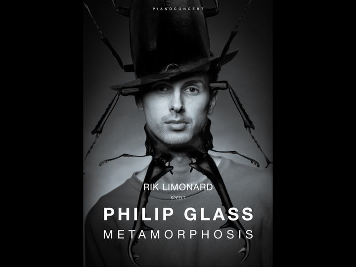 Pianoconcert met beelden: Rik Limonard speelt Philip Glass: Metamorphosis